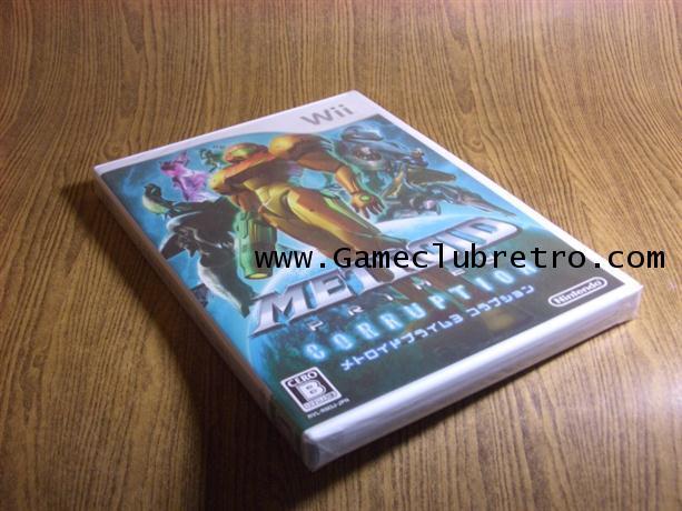 Metroid Prime 3 Corruption เมทรอย 3