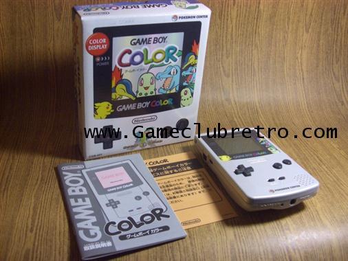 Gameboy Color Pokemon Silver เกมยบอย คัลเลอร์ สีเงิน โปเกมม่อน ลิมิเต็ท
