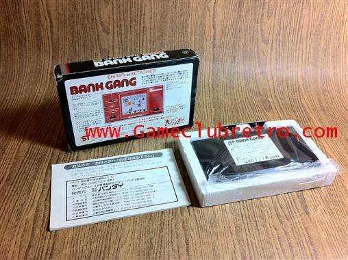 Game  Watch LCD Bandai BankGang   เกมกด จีดี ปล้นธนาคาร 1