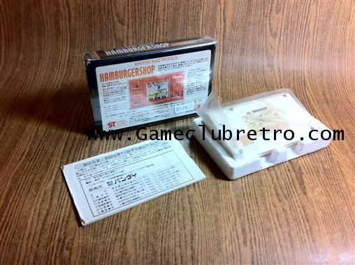 Game  Watch LCD Bandai HambergerShop   เกมกด จีดี ร้าน เบอร์เกอร์ 1