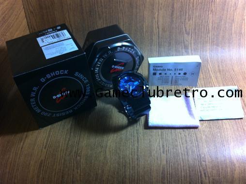 G-Shock Black blue purple  GA 110  คาสิโอ้ จีเอ 110 ดำ ฟ้า ม่วง