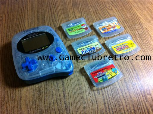Pokemon Mini + 5 Cartrige โปเกม่อน มินิ + 5 เกม