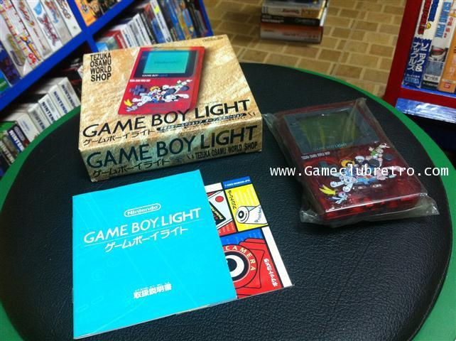 Gameboy Light tezuka osamu Atom เกมบอย ไล้ท อะตอม