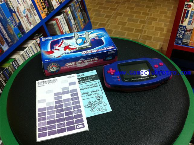 Gameboy Advance GBA Pokemon Center Latias Latios Limited