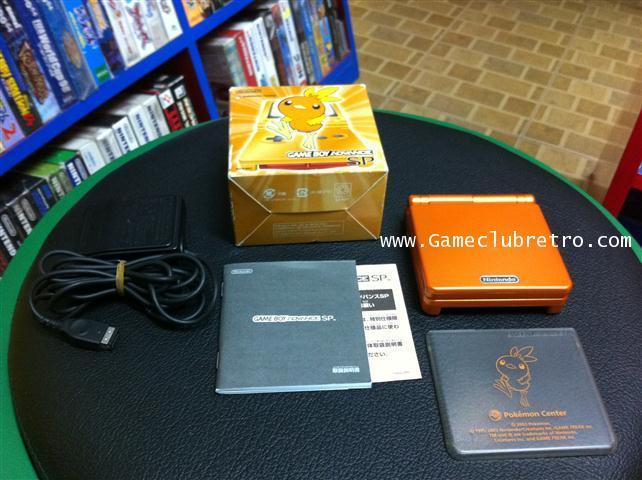 Gameboy Advance SP Pokemon Orange