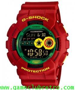 Casio gd 100 RF 4 Red Green Yellow