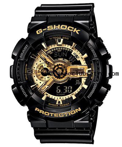 Casio GA-110GB-1ADR Black Gold