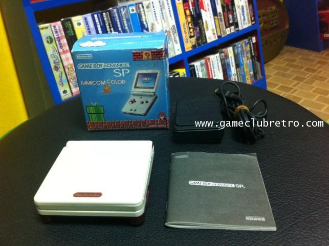 GameBoy Advance SP Famicom Classic