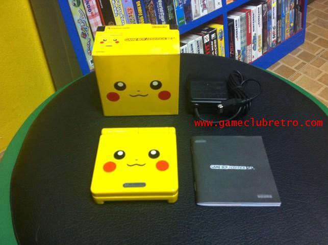 Gameboy Advance Pikachu Limited