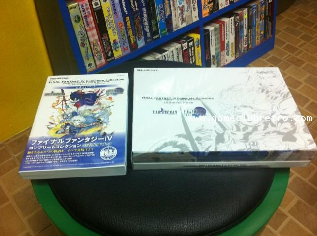 Final Fantasy 4 The After Complete Collection Limited Brand New