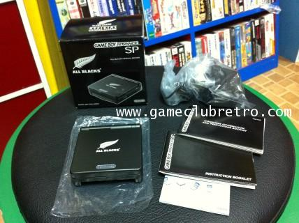 Gameboy Advance Sp All Black  limited