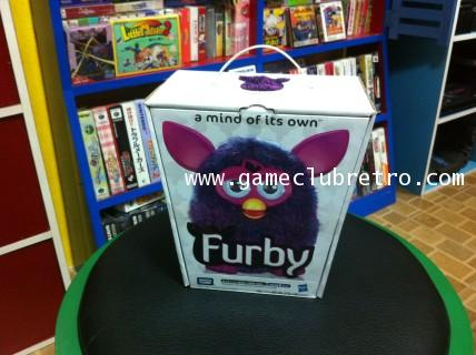 Furby  เฟอบี้ สีม่วง วูดู