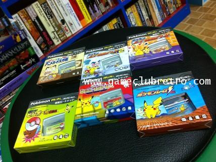 Pokemon Mini Set 6 Brand New  โปเกม่อน มินิ 6 ตลับมือ1