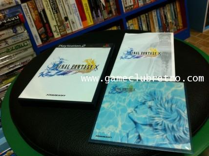 Final Fantasy 10 + Bonus Disc ไฟนอลแฟนตาซี  10