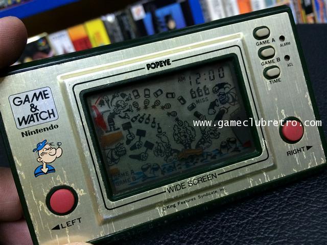 Game Watch Popeye เกมกด ป๊อบอาย