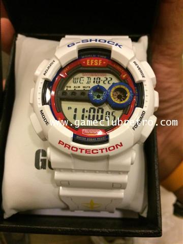 35th anniversary G-SHOCK x GUNDAM of Mobile Suit g-shock Limited