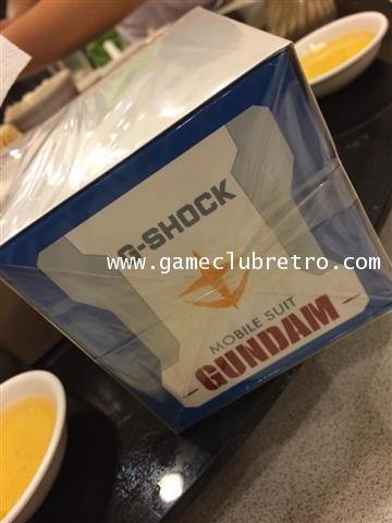 35th anniversary G-SHOCK x GUNDAM of Mobile Suit g-shock Limited 1