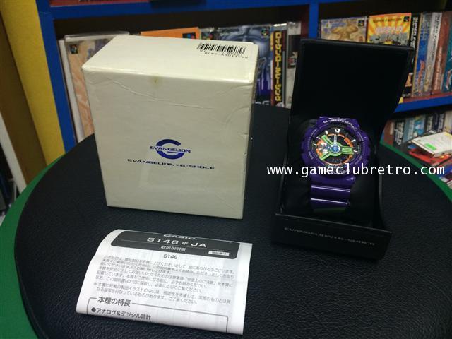G-Shock Evangelion x Casio GA-110PS-6AJR 01 Limited   casio evangelion 01