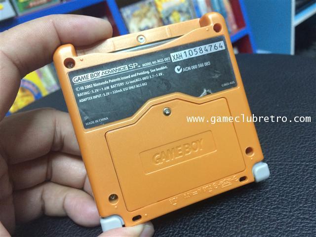 Gameboy Advance Sp Orange เกมทบอย แอดวาน เอสพี ส่้ม 1