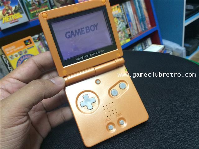Gameboy Advance Sp Orange เกมทบอย แอดวาน เอสพี ส่้ม 2