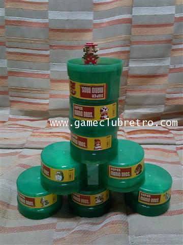 Mario Dot Figure Set