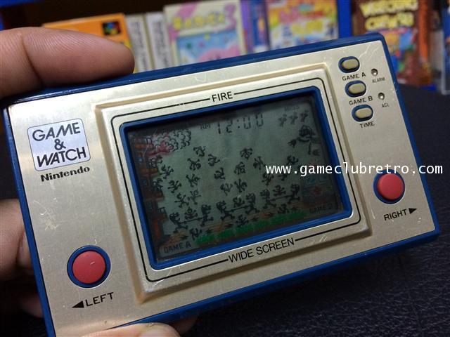 Game Watch Fire เกมกดไฟ