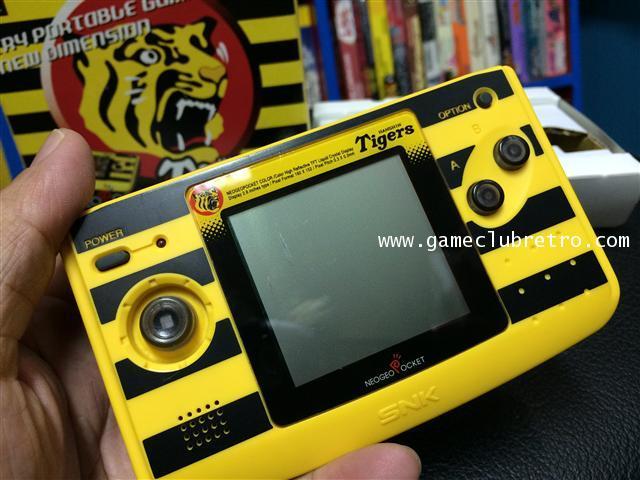 Neogeo Pocket Color Hunshin Tiger Limited  นีโอจีโอ พ๊อกเก็ตคัลเลอร์ ฮันชินไทเก้อ ลิมิเต็ท 1