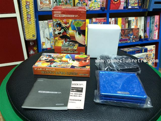 gameboy Advance SP Rockman EXE4 Limited เกมบอยแอดวานซ์ เอสพี  ร๊อคแมน อีเอ็กอี 4 ลิมิเต็ท