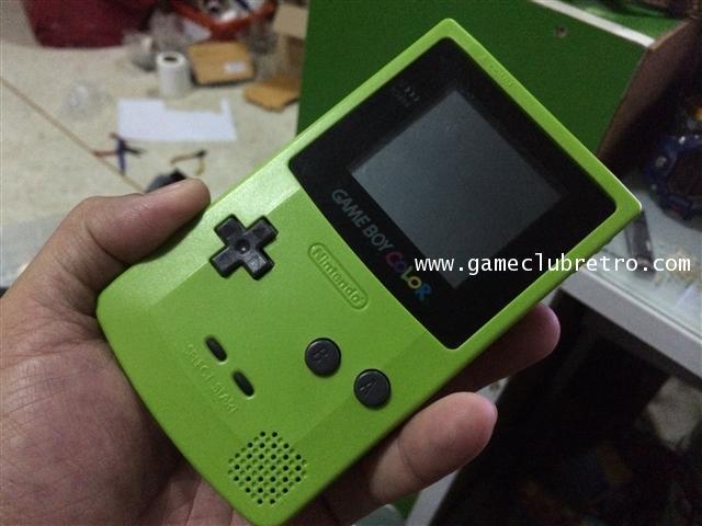 Gameboy Color Green  เกมบอย คัลเลอร์ สีเขียว