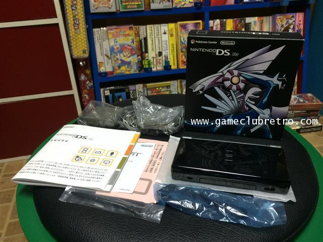 Nintendo DS lite NDS Pokemon Center Diamond Pearl Dialga Palkia Limited Edition