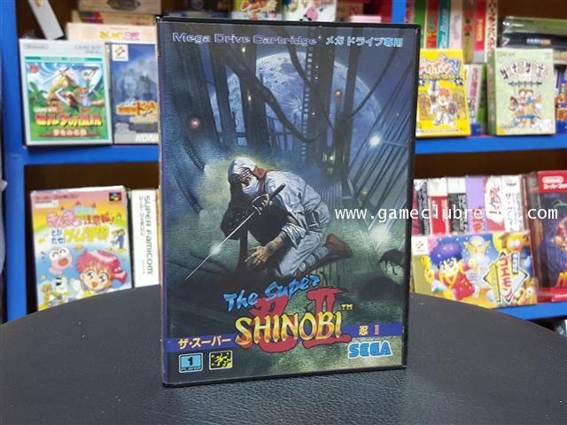 Super Shinobi  Brand New ซุปเปอร์ ชิโนบิ มือ 1