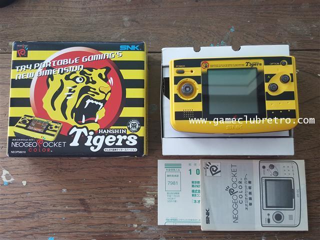 Neogeo Pocket Color Hunshin Tiger Limited  นีโอจีโอ พ๊อกเก็ตคัลเลอร์ ฮันชินไทเก้อ ลิมิเต็ท