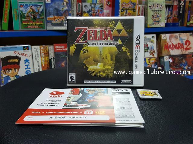 The Legend Of Zelda Link Between World