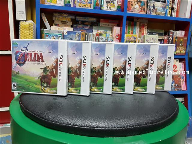 The Legend Of Zelda Ocarina Of Time 3D   Brand New  เซลด้า มือ 1