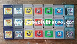 Pokemon Red Green Blue Yellow Gold Silver Crystal โปเกม่อน แดง เขียว ฟ้า เหลือง เงิน ทอง คริสตัล