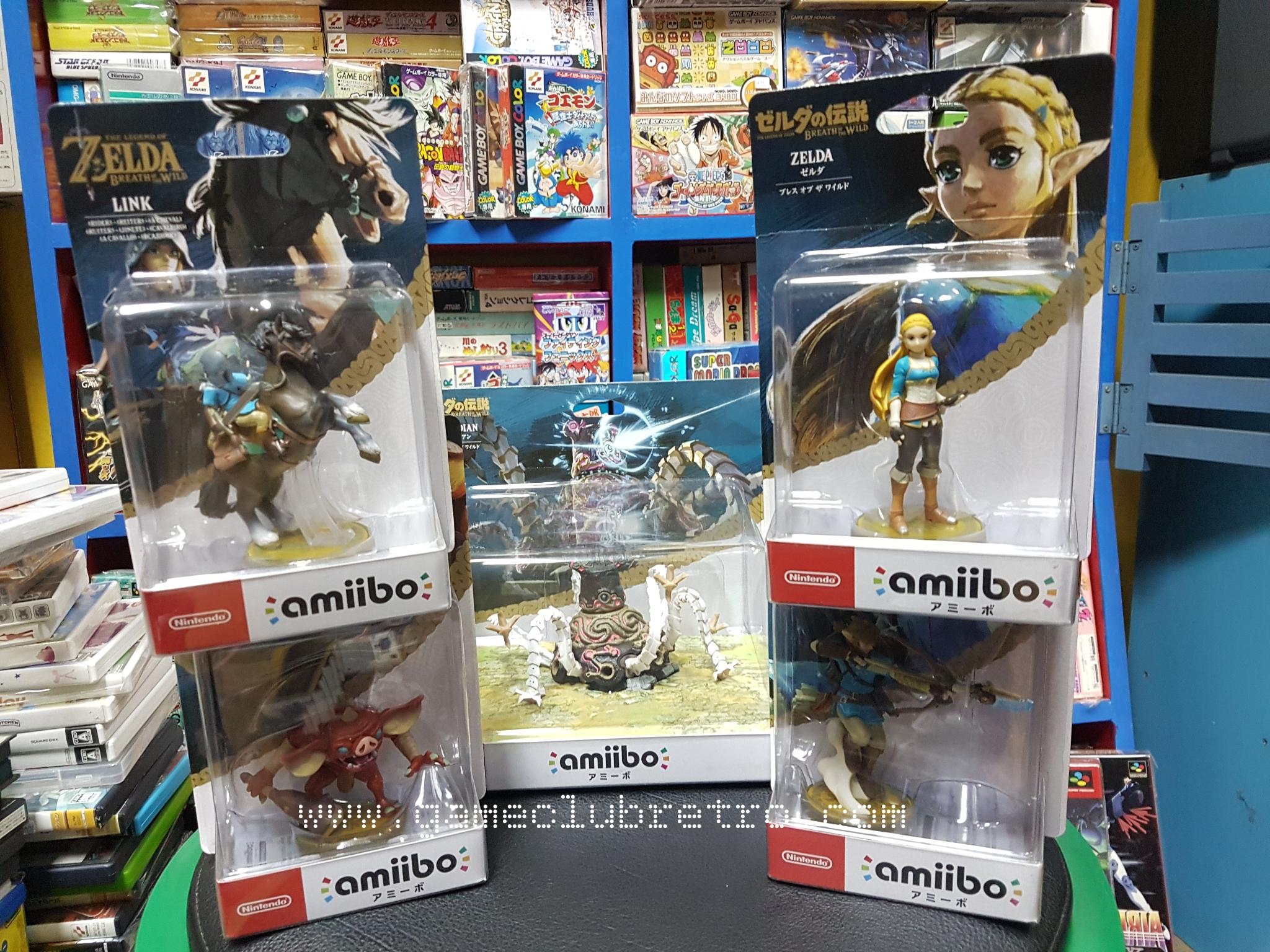 Amiibo Zelda Breath Of The Wild  Set  มือ 1