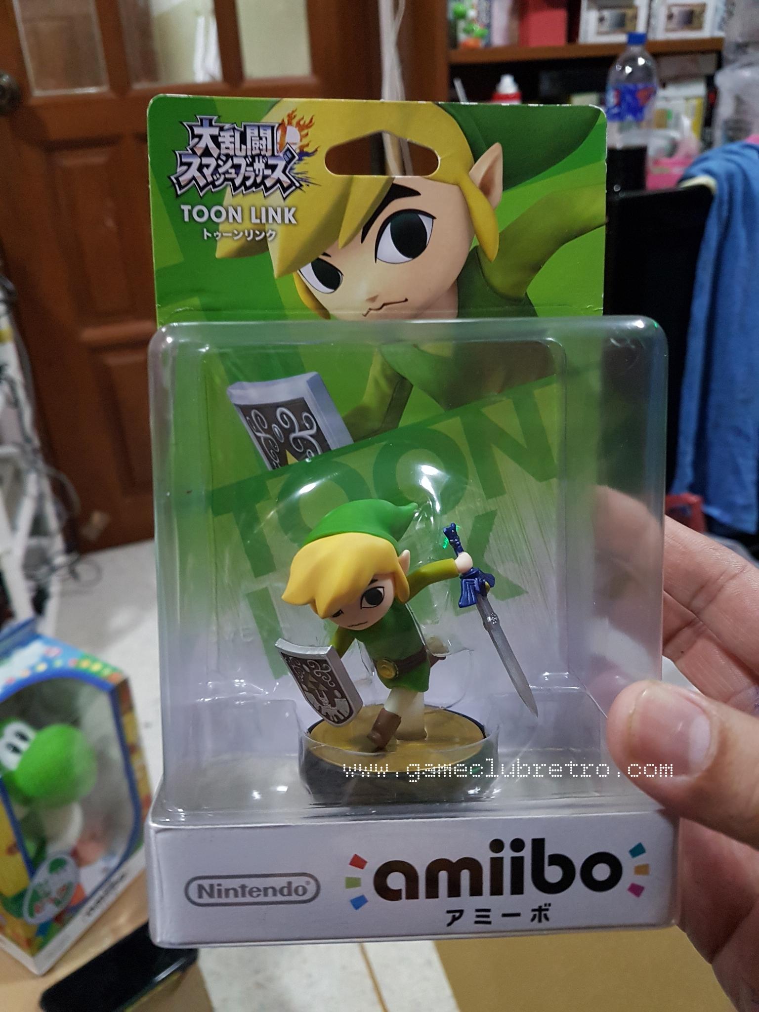 Amiibo Zelda ToonLink SSB  มือ 1