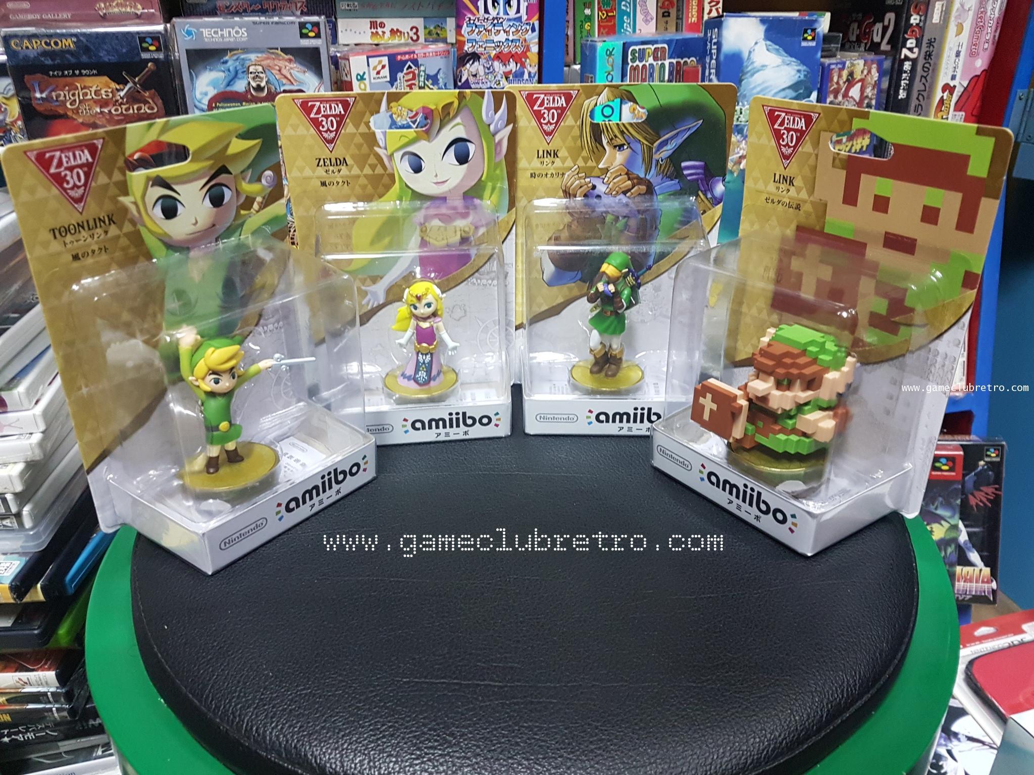 Amiibo Zelda  30th Set  มือ 1
