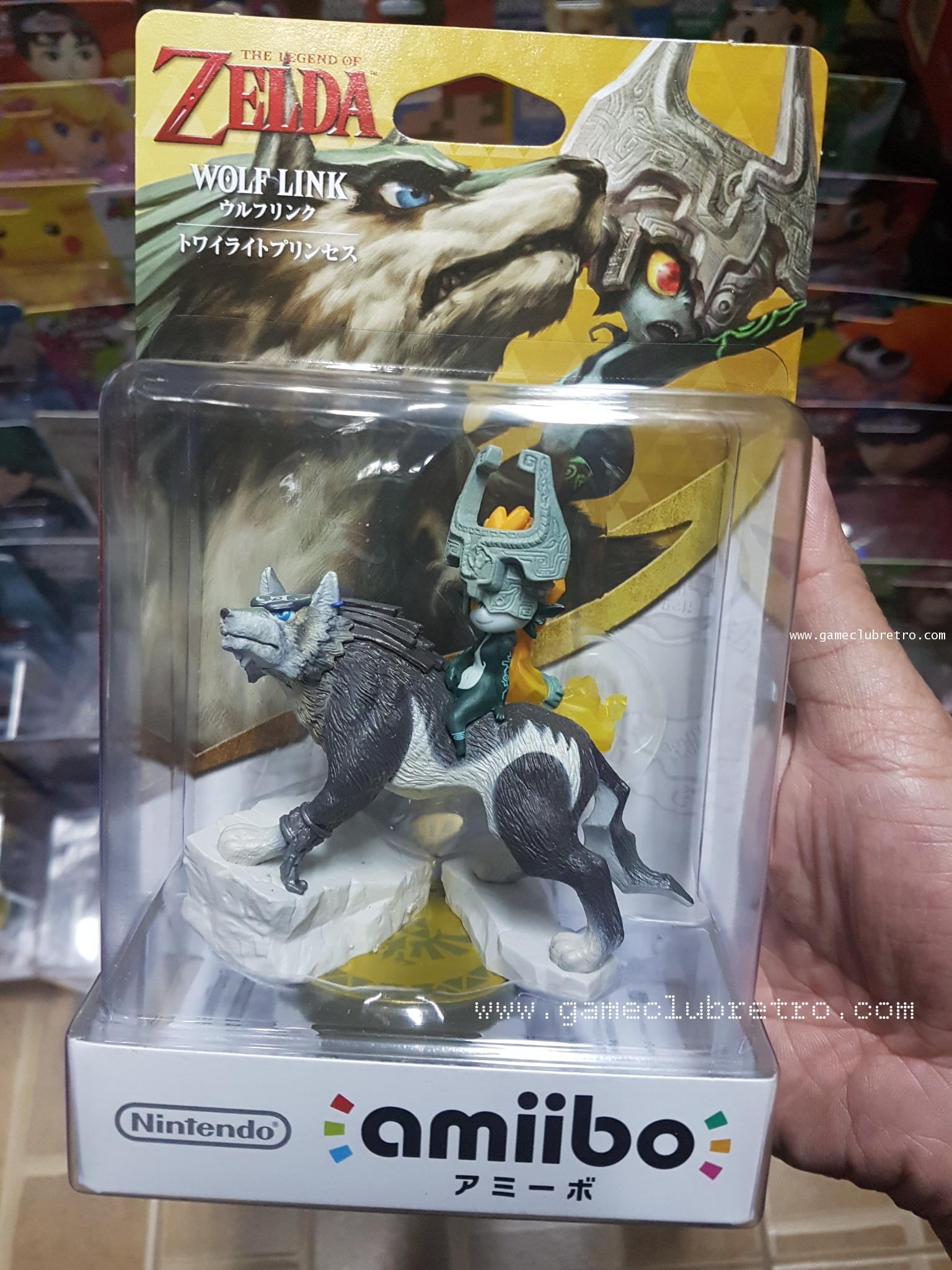 Amiibo Wolf Link มือ 1