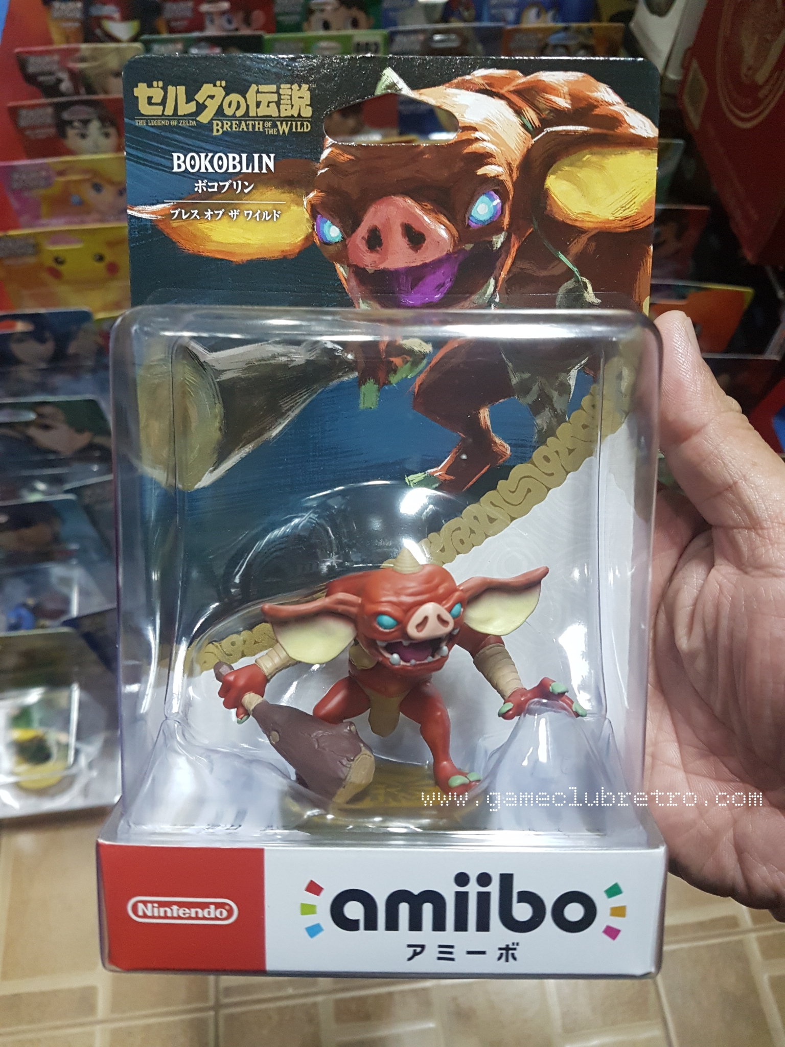 Amiibo BoKoblin มือ 1