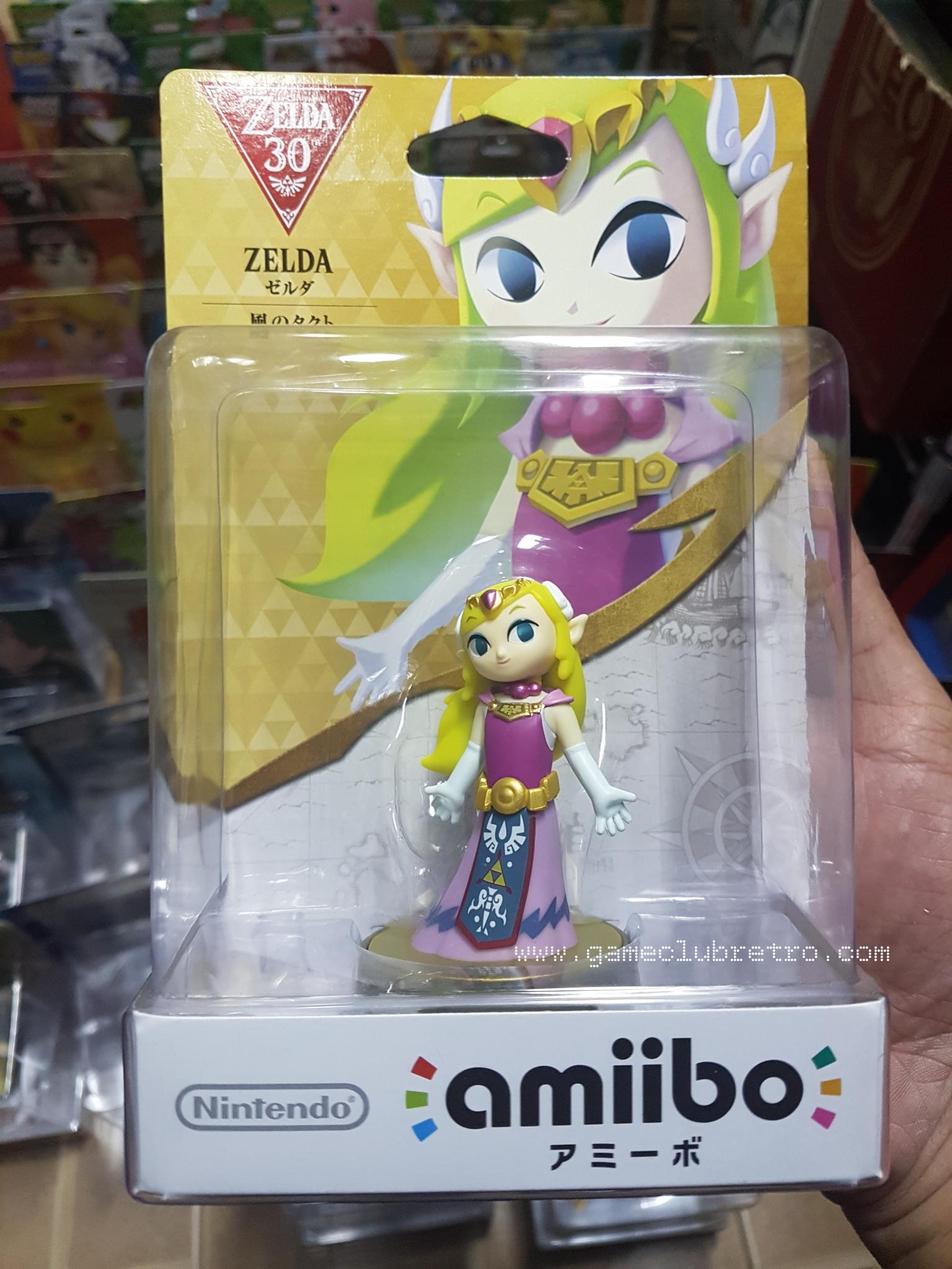 Amiibo Toon Zelda 30th มือ 1