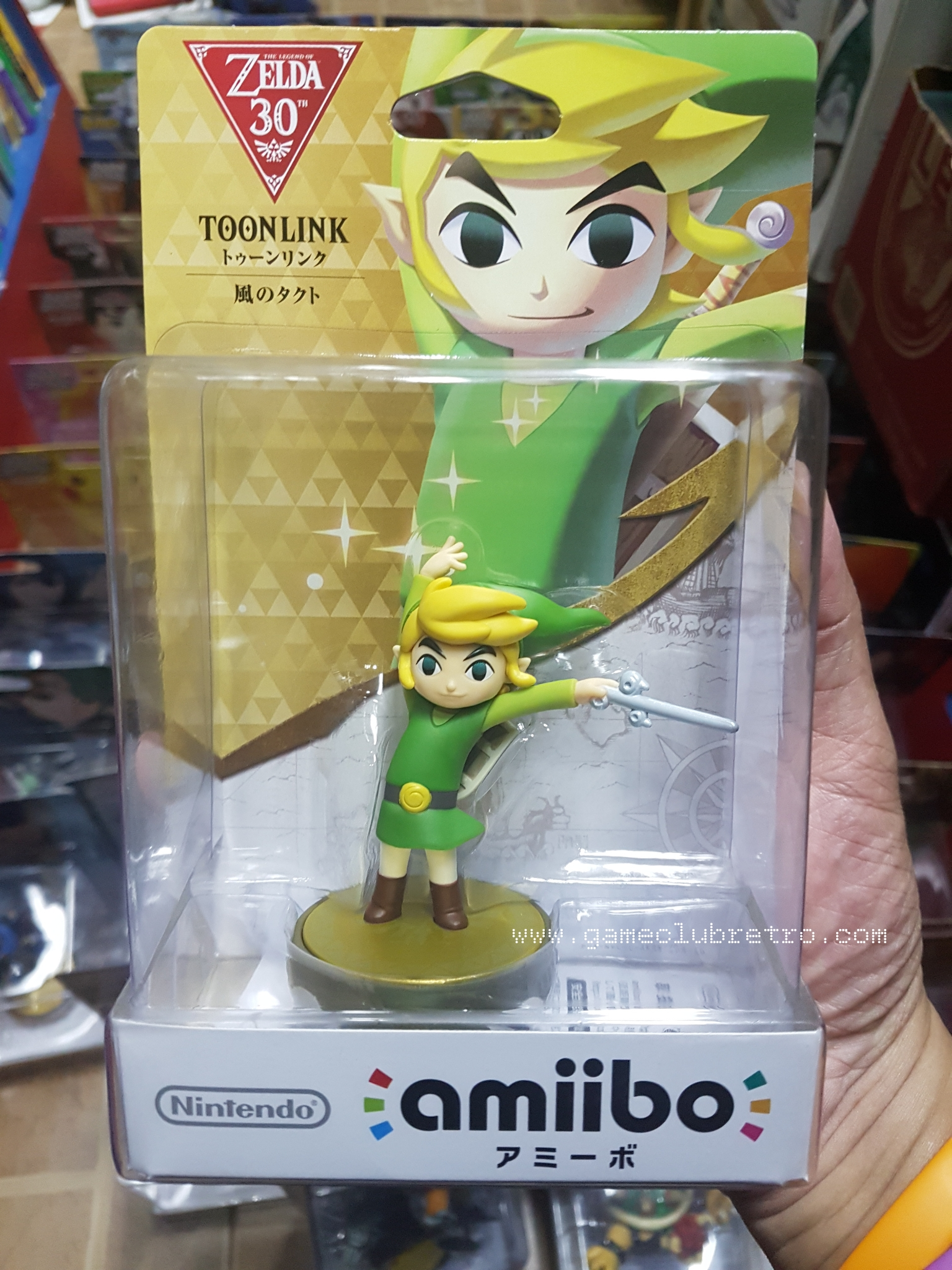 Amiibo Toon Link 30th มือ 1