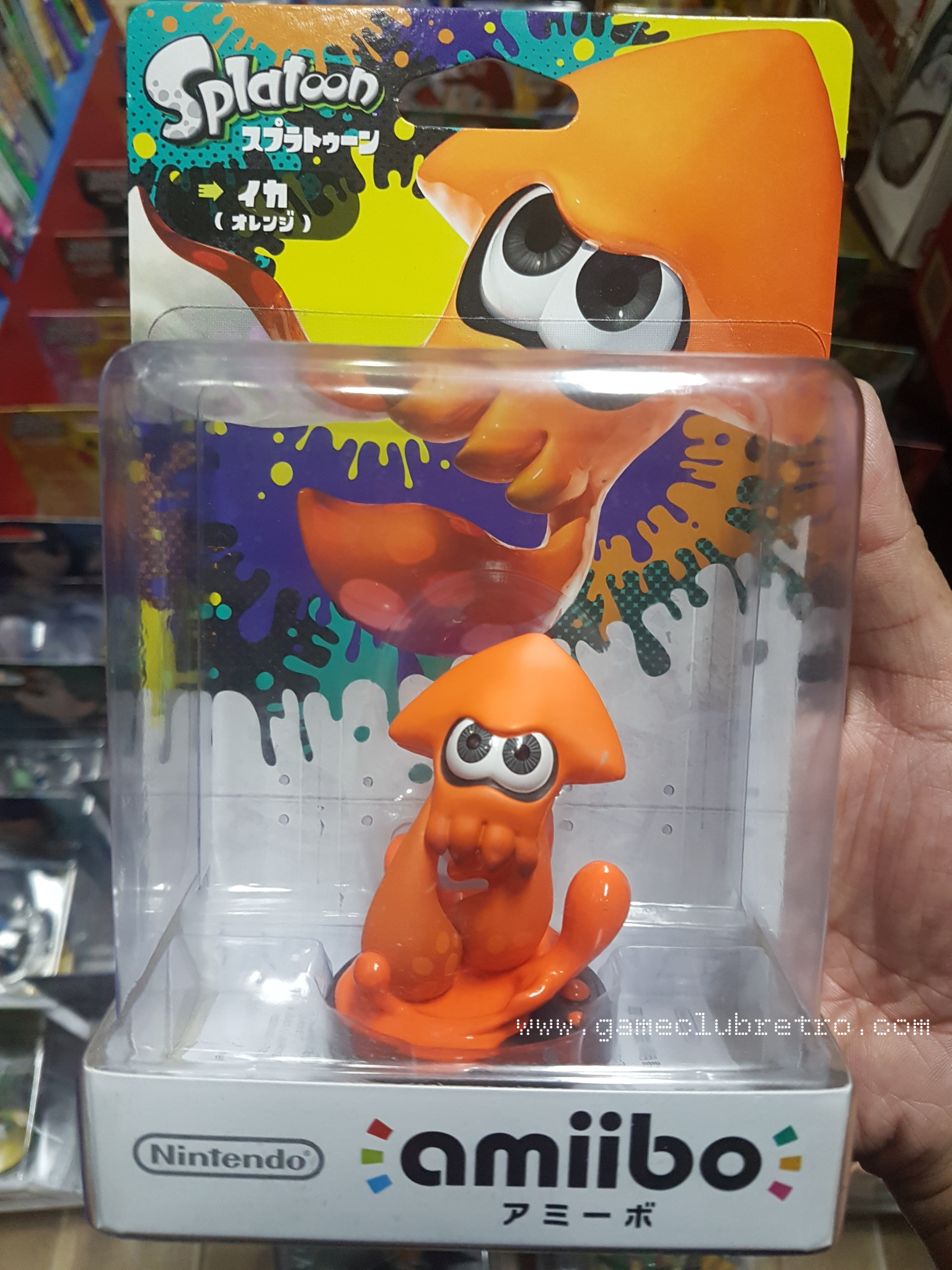 Amiibo Squid Orange มือ 1