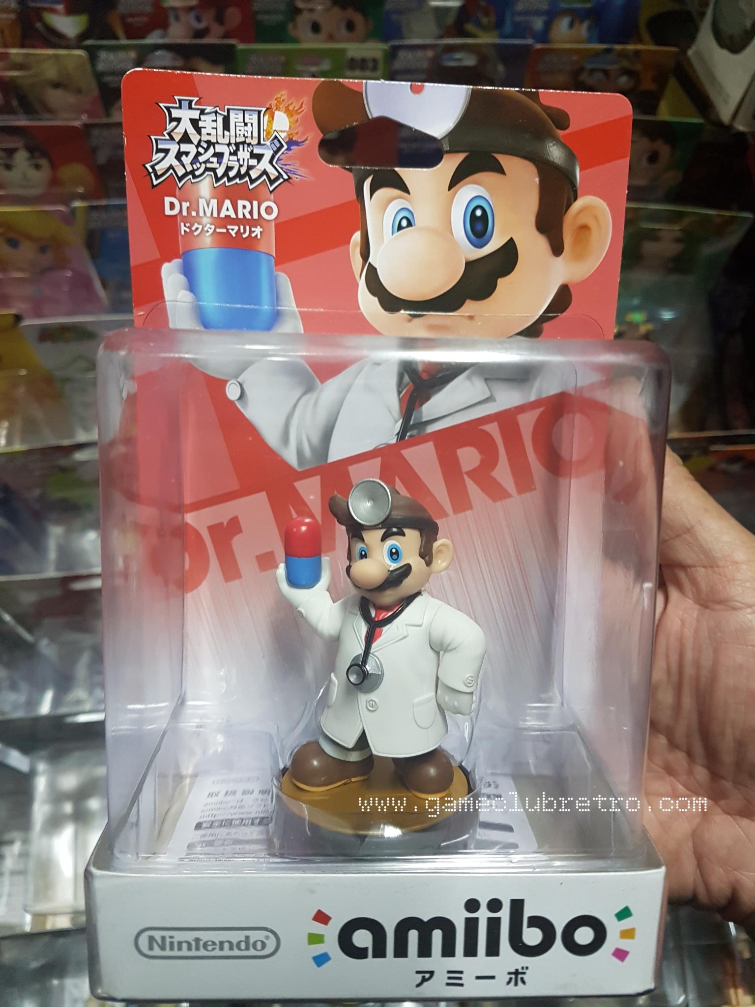 Amiibo Dr.mario มือ1