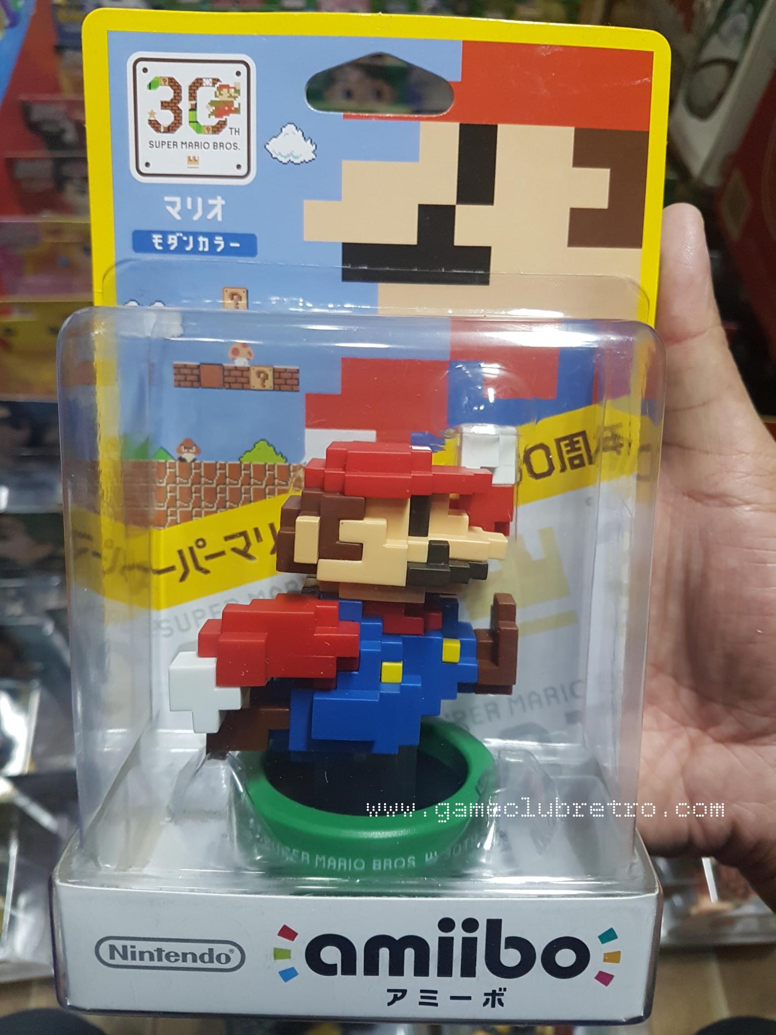 Amiibo Mario Dot มือ 1
