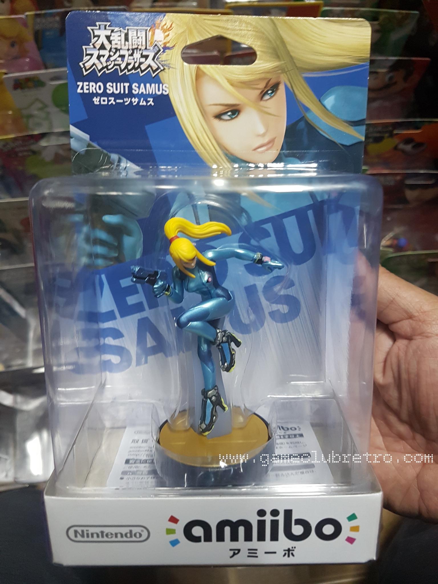 Amiibo Zero Suit Samus มือ 1
