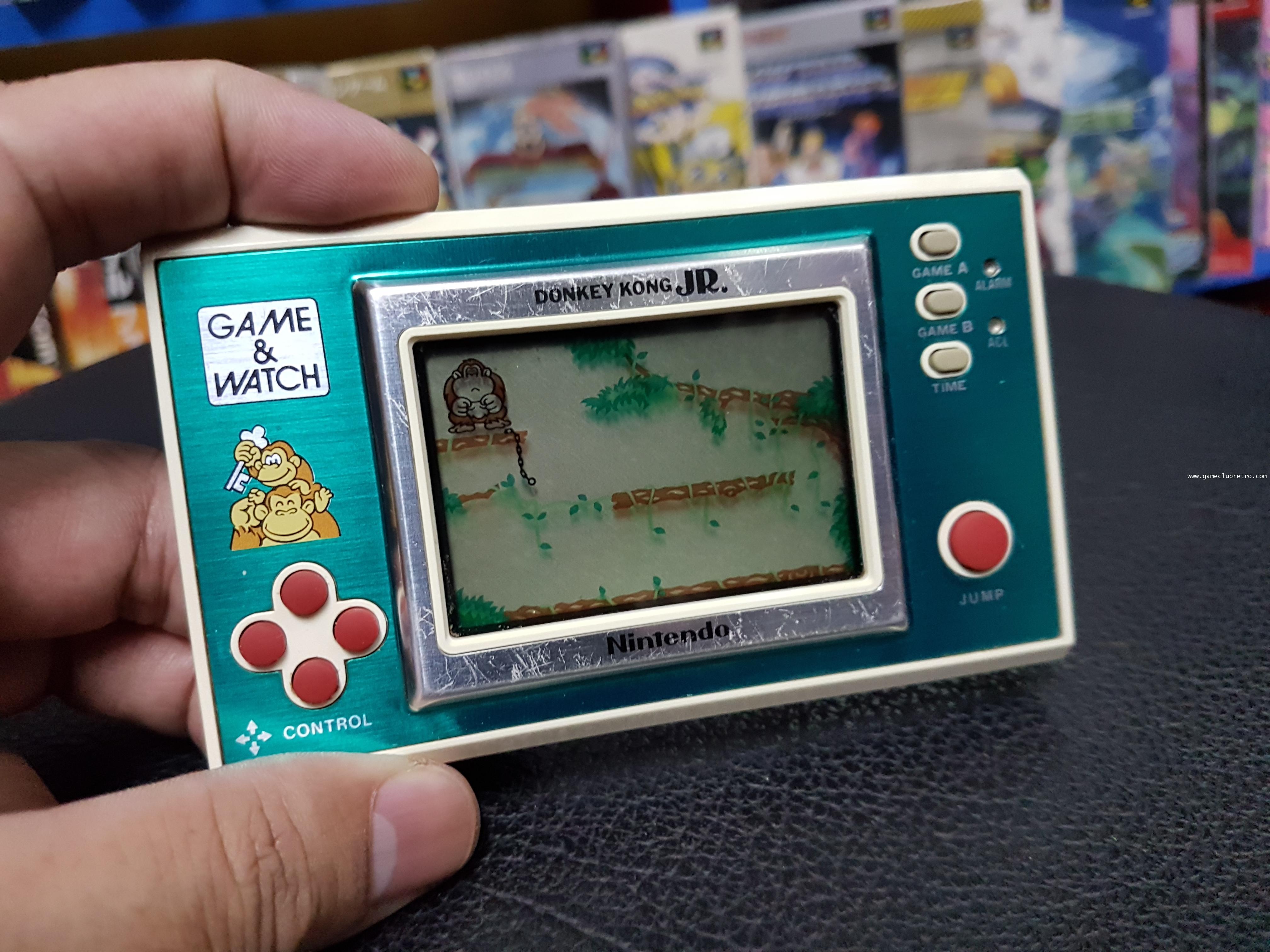 Game Watch Donkey Kong JR เกมส์กด ดองกี้ คอง เจอาร์