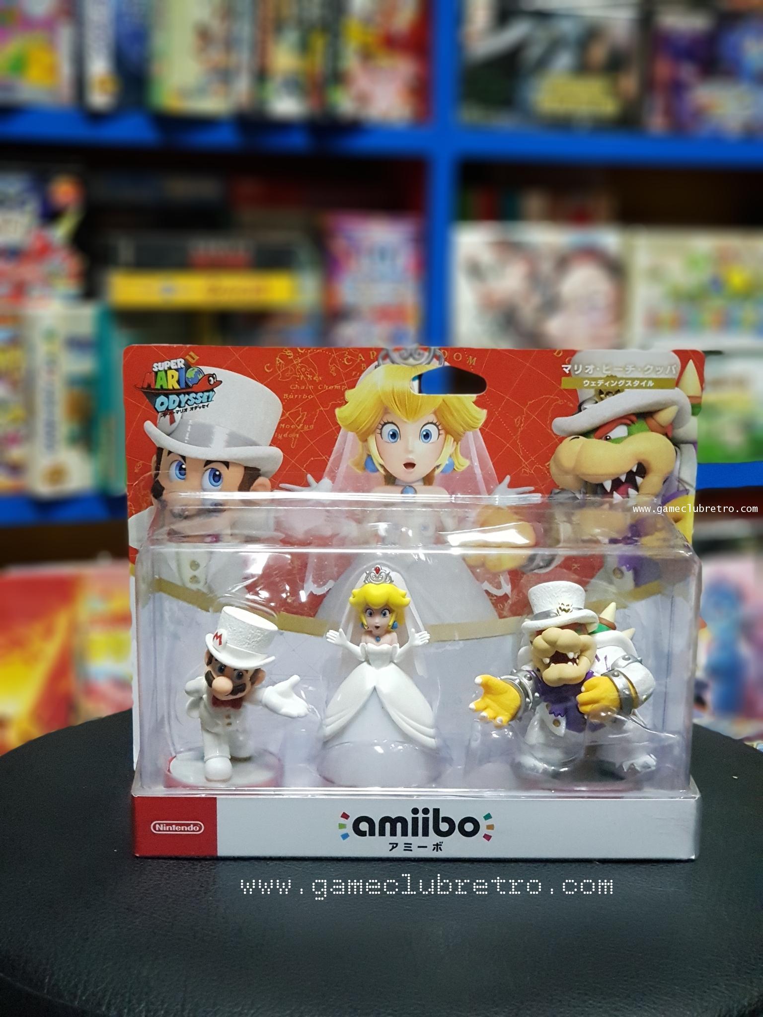 Amiibo Mario Oddesey Set 3