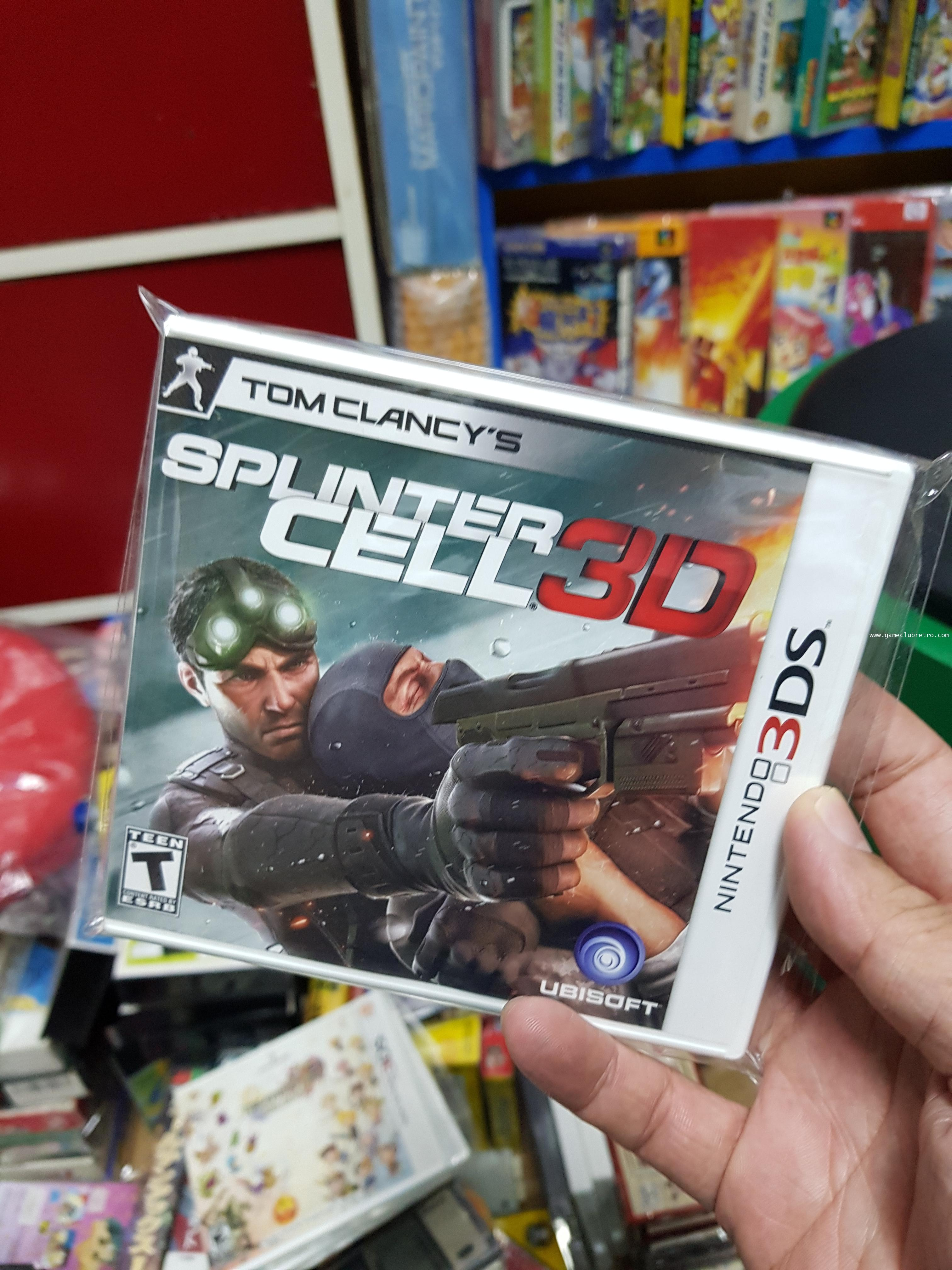 Spinter Cell 3DS