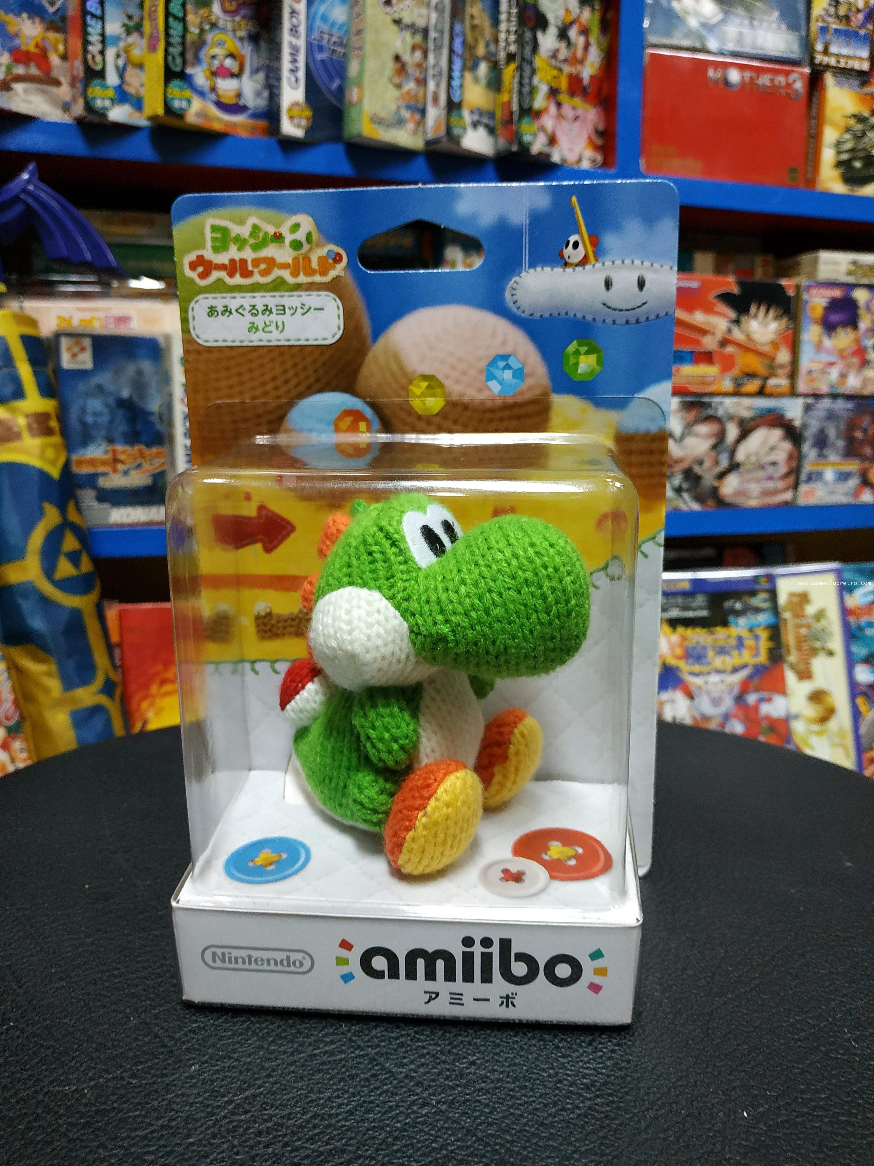 Amiibo Yoshi yan Green อมิโบ้ โยชิ ไหมพรม